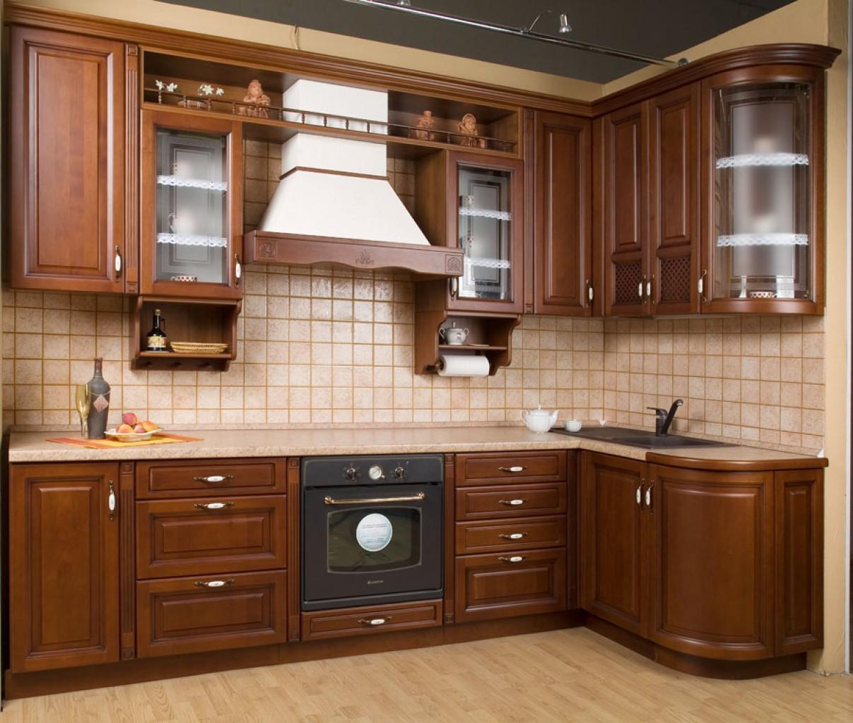 Классические угловые кухни фото