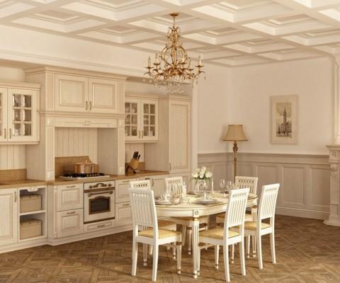Классическая кухня «Симона» — реализованные проекты