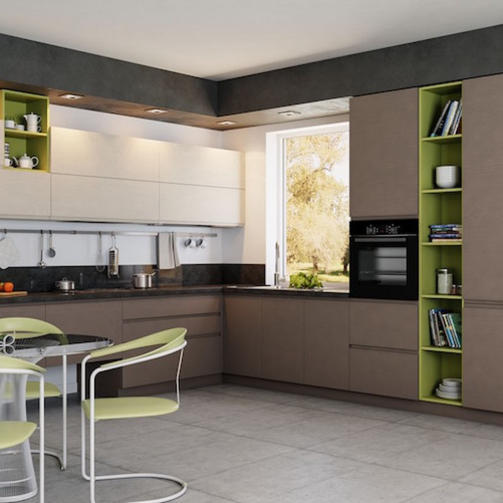 Современные кухонные гарнитуры дизайн 2018 года