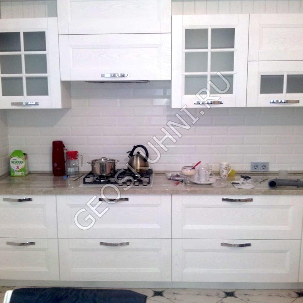 Прямая кухня Арли с пеналами