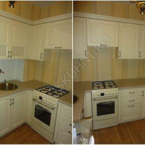 Небольшая угловая кухня Леда