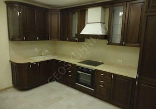 Угловая кухня в классическом стиле «Ника»