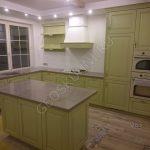 Угловая кухня Симона с островом