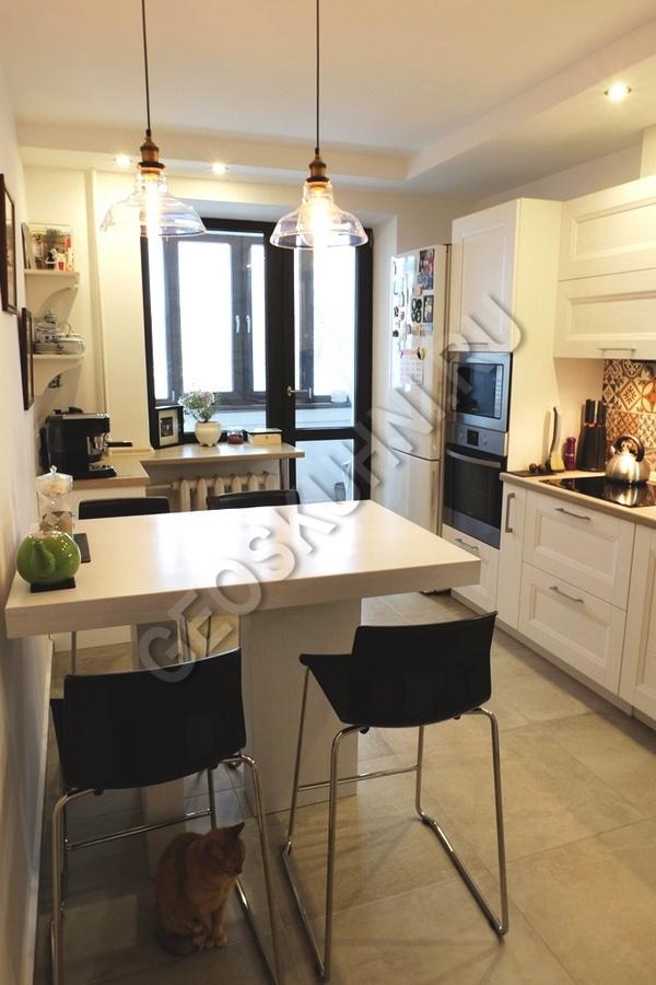 Стильная лаконичная кухня Арли