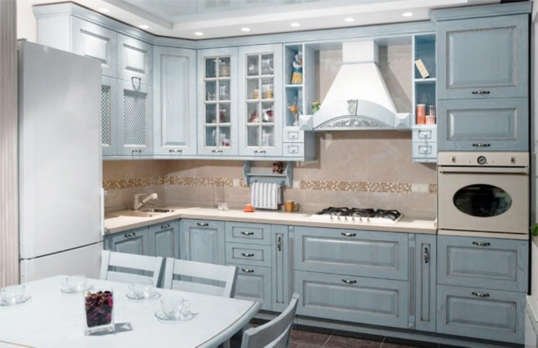 Американская мебель на кухне в Питере (2)