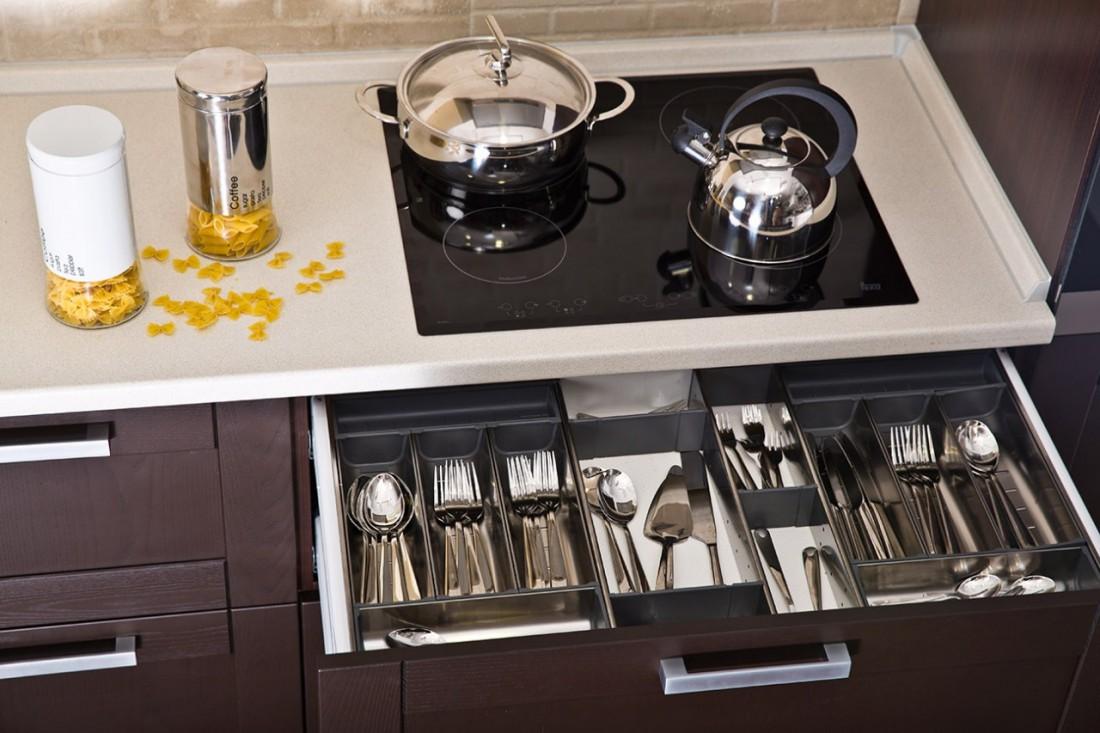 Кухонные ящики – практичность и эстетика