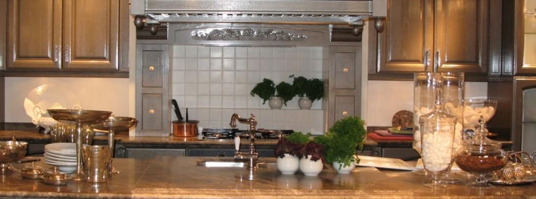 Примеры цветового решения классической кухни